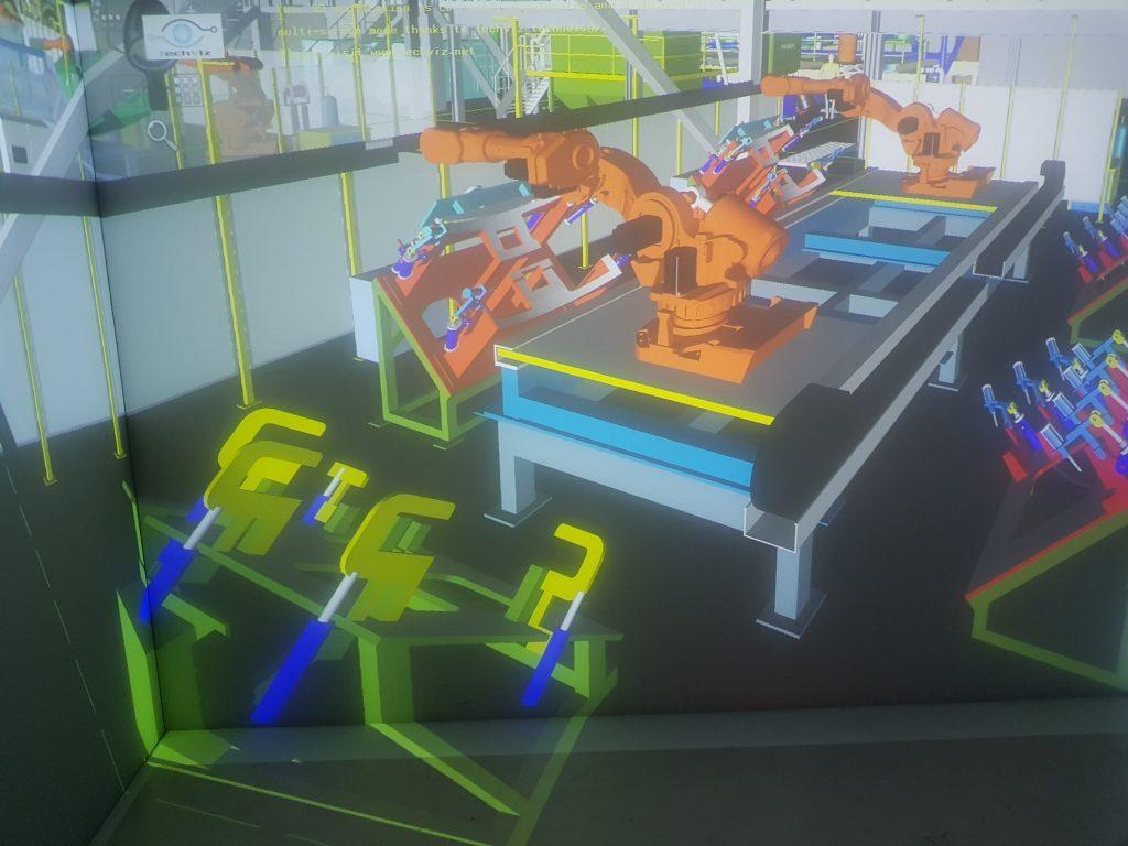 VR虚拟装配